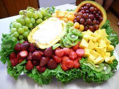 pineapple dip fruit tray - Google Search