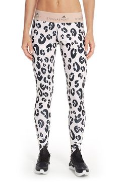 adidas by Stella McCartney 'SC' Tights Leo available at #Nordstrom