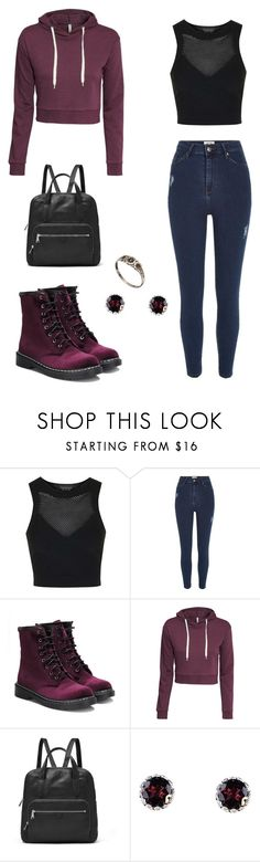 """Amaranthine"" by rebellious-ingenue ❤ liked on Polyvore featuring Topshop, River Island, H&M, FOSSIL and Alexis Bittar"