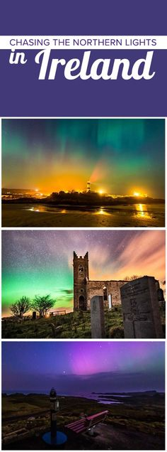 A streak of pink; flashes of aquamarine; dappled purples and blues merging into each other. These are the Northern Lights and they're one of Ireland's best-kept secrets. While the show is setting the sky ablaze up above the northern coast, grab your camera, take your chance, and take some shots. These photos – and memories – will stay with you forever.