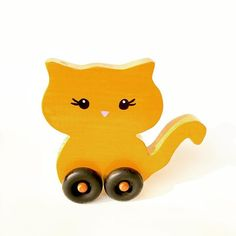 Kitty Wheelie ❤️❤️❤️ available in the shop  #brandrep #loveit #shopsmall #babystuff #waldorftoystore #woodtoys #woodentoys #woodworking #handmadeshop #toyblogger #toyshop #toysforboys #toysforkids #toysforgirls #toysfortots #toddlertoys #babytoys #catsofinstagram #babybrandrep #madeinoregon