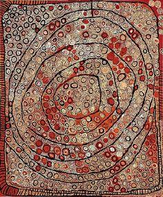 Naata Nungurrayi Marrapinti synthetic polymer paints on linen Deb Ellis/Janna Gougeon Aboriginal Painting, Aboriginal Artists, Dot Painting, Encaustic Painting, Indigenous Australian Art, Indigenous Art, Tachisme, Cult, Native Art