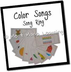 Color Songs and Bill Martin reading Brown Bear, Brown Bear on video