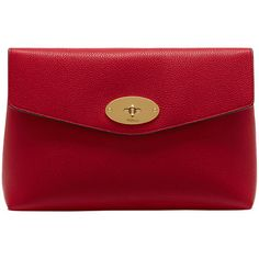 Buy Mulberry Darley Veg Tan Leather Large Cosmetic Pouch Online at johnlewis.com
