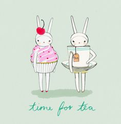 fifi lapin - tea time with rabbits