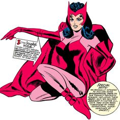 The Scarlet Witch(1967)by Don Heck. This link connects to an article about the character's history up util 1967. It even includes a personality profile.