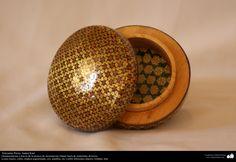Artesanía Persa- Jatam Kari (Marquetería y Ornamentación de objetos) - 45 | Galería de Arte Islámico y Fotografía