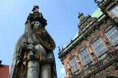 Roland und Rathaus in #Bremen