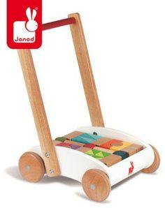 Wózek chodzik z klockami - Trafiony prezent