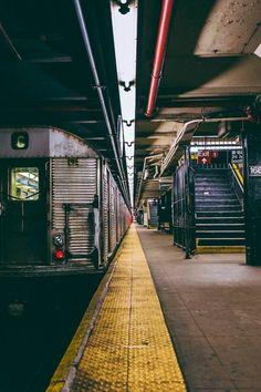 Street subway station, Washington Heights, Manhattan, New York City, New York. Manhattan New York, Manhattan Skyline, Washington Heights, Photographie New York, Travel Photographie, Urban Photography, Street Photography, New York Photography, Cityscape Photography