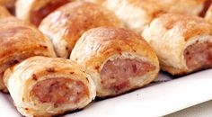 chicken and sausage | chicken-and-bacon-sausage-rolls