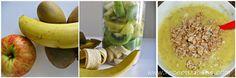 Jabuka, banana, kivi i pahuljice od pira za bebe 12+