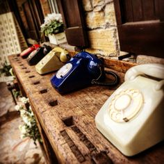 Telefono vintage....Mariuccia ti Sposa wedding party!! La Cascina Fiorita