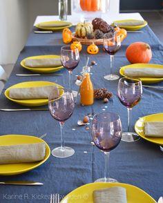 SPICY HALLOWEEN - table aux couleurs d'Automne et Epicées ...
