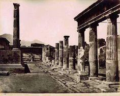 Giorgio Sommer - Pompei Tempio di Venere
