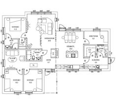 Husmodellen Diskonti från Anebyhusgruppen - Hus.se My House, House Plans, Floor Plans, Room Decor, Flooring, How To Plan, Architecture, Dream Homes, Room Ideas