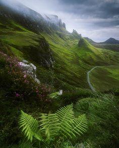 Quiraing, Scotland by Aliaume Chapelle