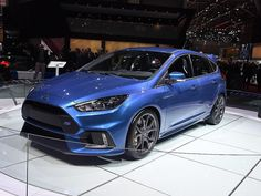Got to love Nitrous Blue but wonder why Ford didn't go with this colour which was more in line with previous RS Models.