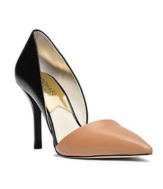 MICHAEL Michael Kors Julieta D´Orsay Pointed-Toe Pumps | $135