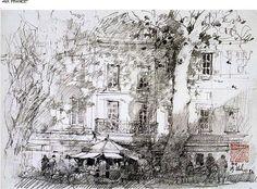 """Aix France"" by Joseph Zbukvic"