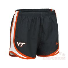 Womens Virginia Tech Nike Tempo Shorts