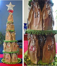 """""""Don't put our 2011 Beer Christmas Tree up again this year. I don't want to wait for the beer."""" Ok, then I will put up a beer advent calendar tree for you instead!"""