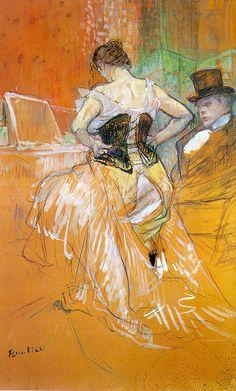 Henri de Toulouse-Lautrec, Woman in a Corset, c. 1896