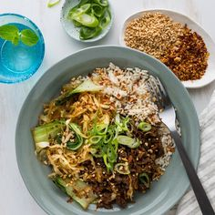 - Jasmine Rice, Wok, I Foods, Beef Recipes, Carrots, Cabbage, Beans
