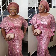 Breathtaking Aso Ebi Style Inspiration for 2018 You Shouldn't Let Go...Breathtaking Aso Ebi Style Inspiration for 2018 You Shouldn't Let Go