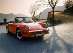 Porsche 911 SC Cabriolet, 1983. First time Porsche offered the 911 as a Cabriolet. - nz