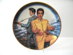 Vintage Elvis Presley Collector's Plate Rockin' In Moon Susie Morton No.4388 COA