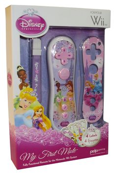 Disney Princess Wii Controller w/4 labels (characters may vary).  But...Disney Princesses FTW!)