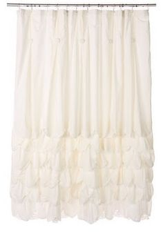 Ruffles Shower Curtain Pretty Curtains Diy Ruffle
