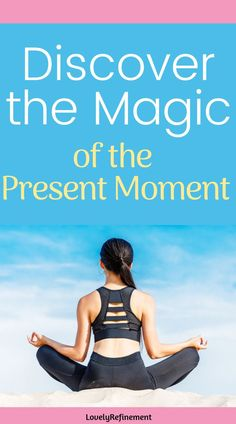 Learn how to be more present in your every day life to help reduce anxiety, improve mental health and even feel more confident. Your days will become brighter and your mind will become stronger. Discover the magic of the present moment. Mental Health Art, Mental Health Therapy, Improve Mental Health, Mental Health Awareness, Deal With Anxiety, Anxiety Tips, Stress And Anxiety, Overcoming Depression, Overcoming Anxiety