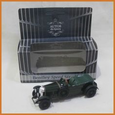 1:43 Coleccion Autos De epoca Bentley Speed Six 1929 Diecast Toy Vehicles Models