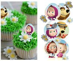 Cupcakes Masha e Orso - Idee decorazioni - Wimiblog