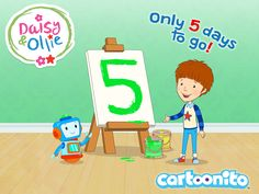 Just 5 days to go! Daisy & Ollie starts 1st Nov at 4pm on @CartoonitoUK #DaisyandOllieCountdown #Cartoonito