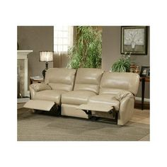 Omnia Leather Mandalay Leather Reclining Loveseat Upholstery: Empire - Black
