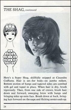 Retro! The Shag haircut, 1972.