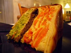 ~ Amber (and her silly adventures) ~: Vegetarian Cooking- Vegetable Gateau! The most delicious thing I've ever eaten!