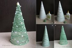 Easy Christmas Decor From simple to amazing Not so difficult answers for a super captivating and wonderful simple christmas decor diy xmas trees . Xmas decor pin shared on this day 20190118 , exciting post reference 7421378764 Homemade Christmas Tree, How To Make Christmas Tree, Cute Christmas Tree, Christmas Tree Design, Noel Christmas, Simple Christmas, Christmas Ornaments, Hanging Ornaments, Christmas Ideas
