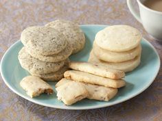 Classic Shortbread Cookies in 4 Ingredients with added 1 ingredient Variations from FoodNetwork.com