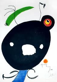 Bid now on One plate from Quatre Colors Aparien el Mon by Joan Miró. View a wide Variety of artworks by Joan Miró, now available for sale on artnet Auctions. Joan Miro Paintings, Picasso, Francis Picabia, Spanish Painters, Jewish Art, Art For Art Sake, Constellations, Abstract Art, Abstract Landscape