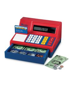Take a look at this Pretend & Play Calculator Cash Register by Learning Resources on #zulily today!