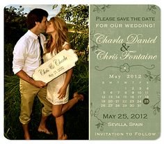 Country Western Boots Save the Date Wedding Magnets