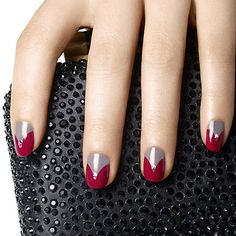 opening night by essie - it's your night to shine. the red curtain goes up and you play the starring role in sleek granite gray sparkling with diamond glitz.