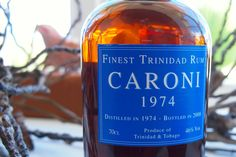 Friday Happy Hour: My Unrequited Love for Bristol Caroni 1974 Finest Trinidad Rum