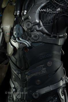 OSCORP [] smart exo suit design []