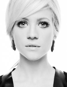 Brittany snow love her bangs!