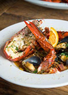 Maine Lobster Paella | Maine Lobster Marketing Collaborative